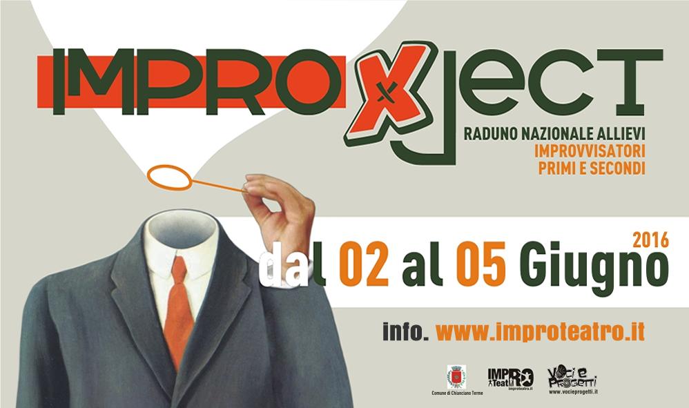 Improject 2016, raduno di improvvisazione teatrale primi e secondi anni Improteatro